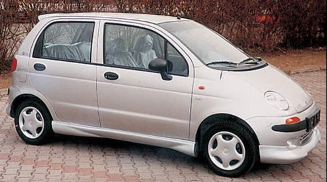 SPORT Seitenschweller Daewoo Matiz