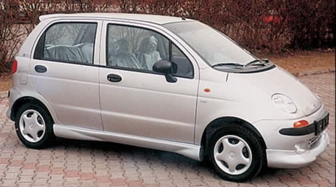 SPORT Seitenschweller Chevrolet Matiz