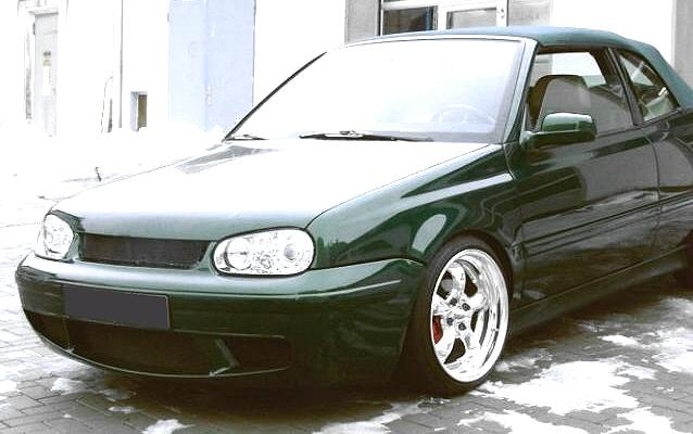 RS-Style Frontschürze/Frontspoiler VW Golf 4 Cabriolet