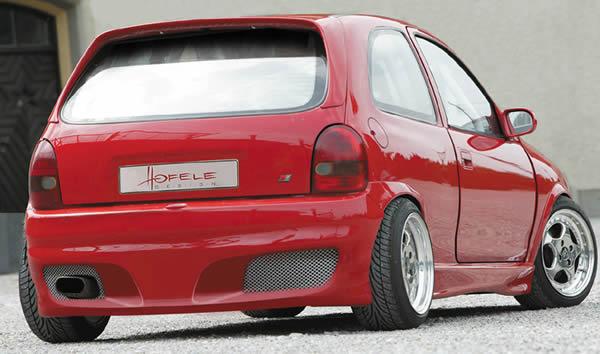 GT-Six Heckschürze/Heckstoßstange Opel Corsa B