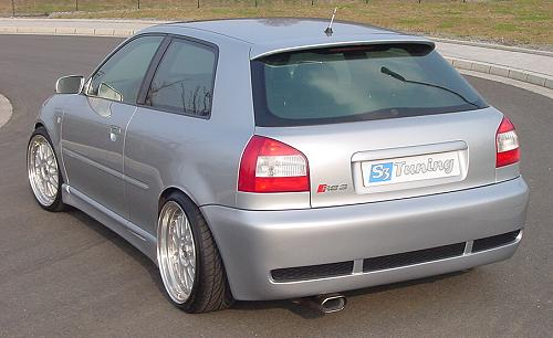 RS4 Heckschürze/Heckstoßstange Audi S3 8L