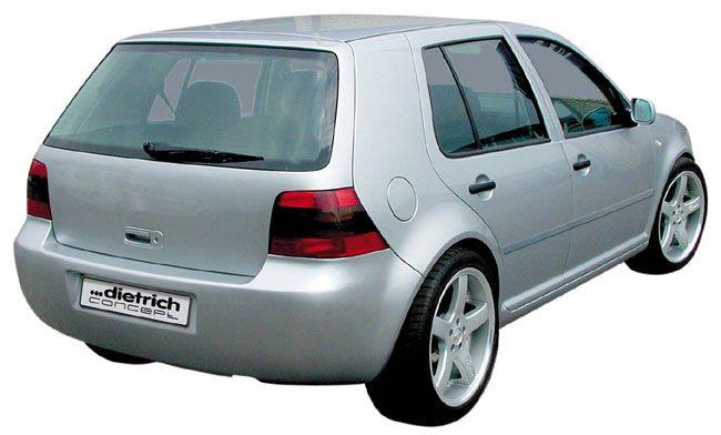 CLEAN-STYLE Heckstoßstange/Heckschürze VW Golf 4