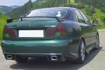 FX Heckschürze/Heckstoßstange Mitsubishi Carisma