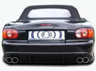 FX Heckschürze/Heckstoßstange Mazda MX-5 NB