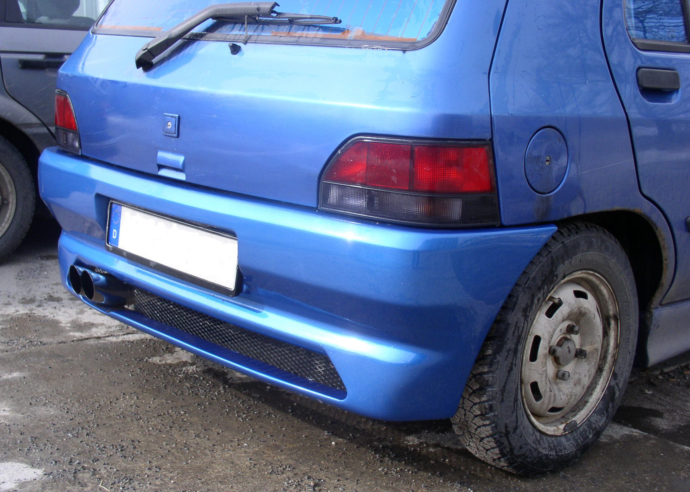 FX Heckschürze/Heckstoßstange Renault Clio 1