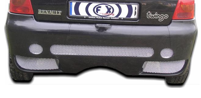 FX Heckschürze/Heckstoßstange Renault Twingo 1