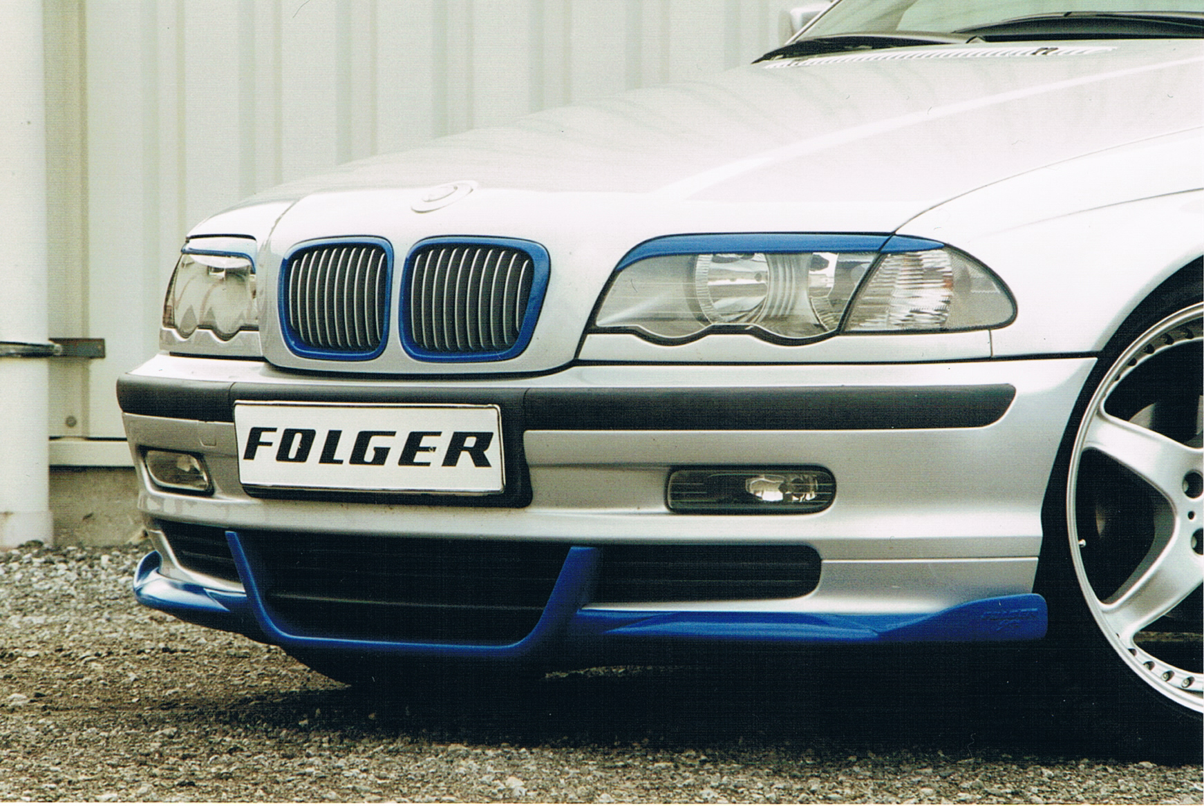 STW Frontspoiler BMW E46
