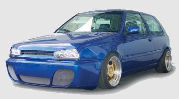 GT Frontspoilerstoßstange VW Golf 3