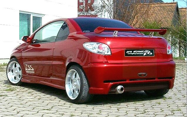 GT Heckschürze/Heckstoßstange Peugeot 206