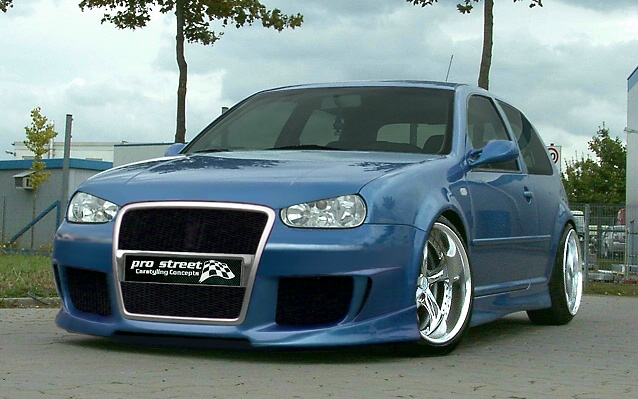 XTR Frontspoiler/Frontschürze VW Golf 4