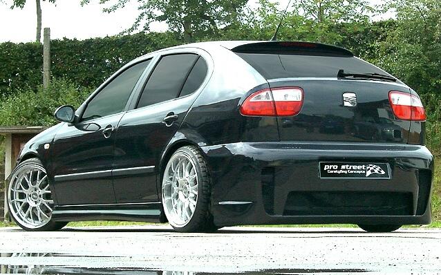 RACELOOK Heckschürze/Heckstoßstange Seat Leon 1M