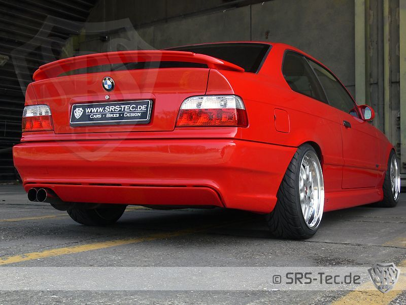 B3 Heckstoßstange/Heckschürze BMW 3er E36