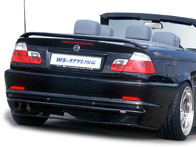 Racelook Heckstoßstange VW Golf 5