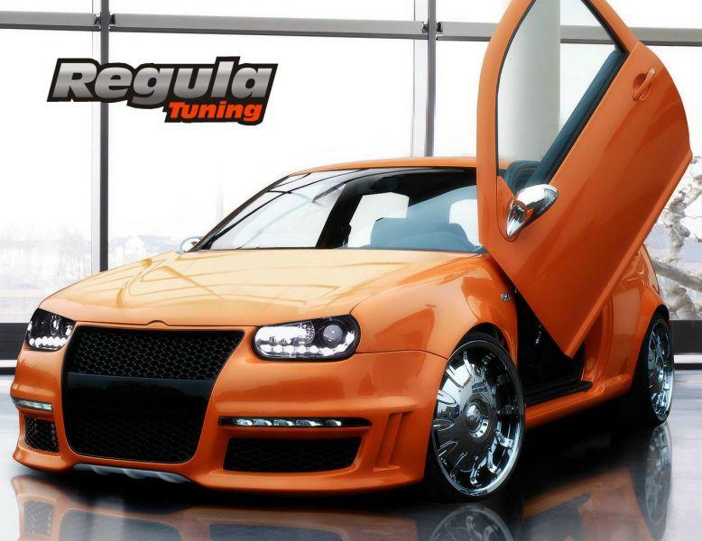 GTR2 Frontspoiler/Frontschürze VW Golf 4