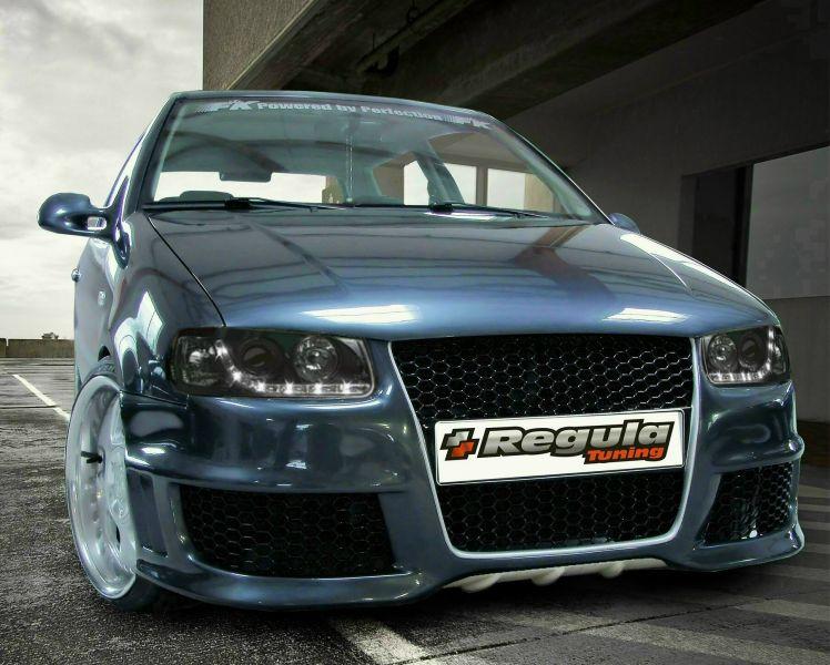 GTR Frontschürze/Frontstoßstange VW Polo 6N