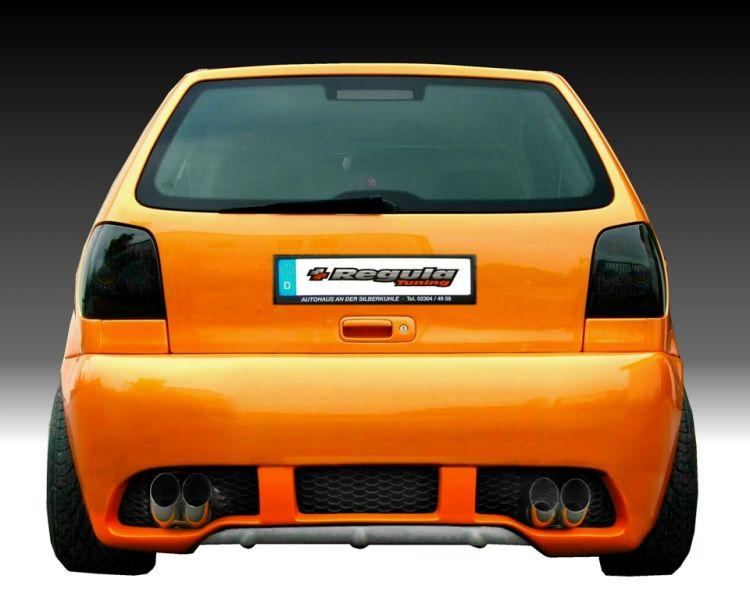 GTR Heckschürze/Heckstoßstange VW Polo 6N2