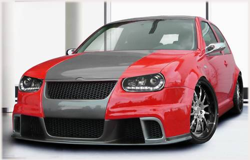 GTA Frontschürze/Frontspoiler VW Golf 4