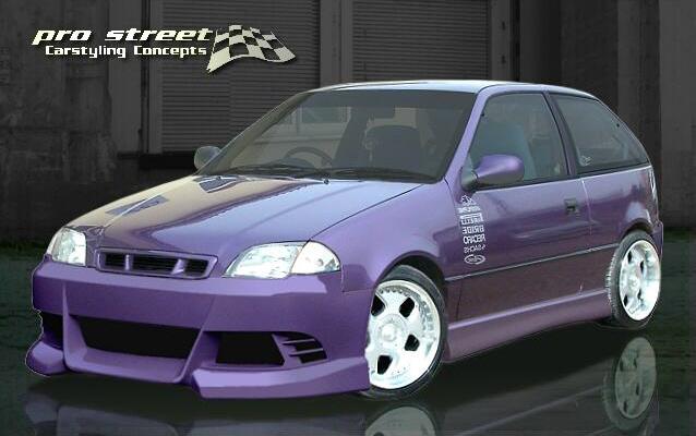 CL4 Frontspoiler/Frontschürze Subaru Justy MS Preisvergleich