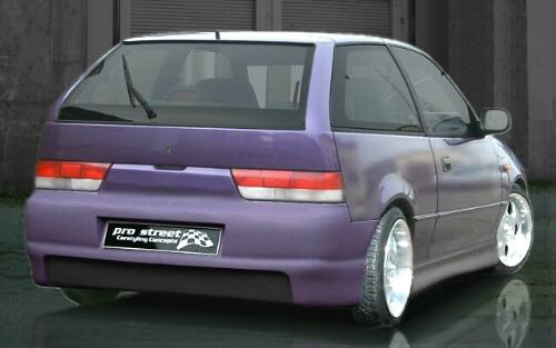 SF1 Heckschürze/Heckstoßstange Subaru Justy MS Preisvergleich