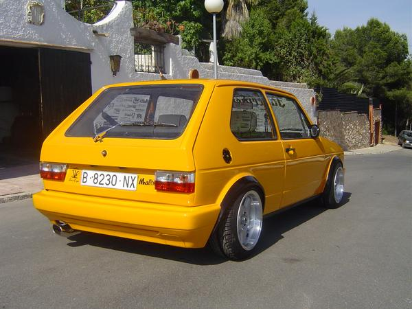 GL Heckschürze/Heckstoßstange VW Golf 1