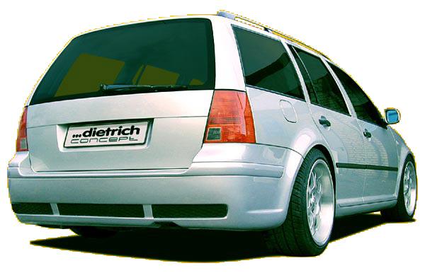 RS4 Heckstoßstange/Heckschürze VW Bora Variant