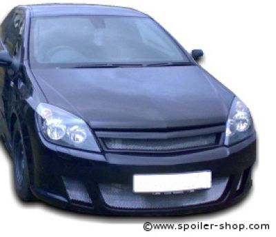 street line front bumper spoiler for opel astra h gtc/twintop