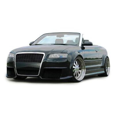 Ci Single Frame Front Bumper Spoiler For Audi A4 Cabriolet Typ 8h