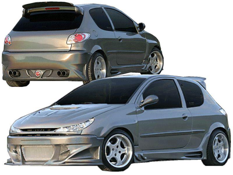 Predator Body Kit For Peugeot 206 Spoiler Shop Com