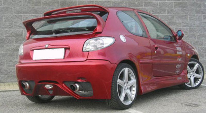 Race Rear Wing Spoiler For Peugeot 206 Spoiler Shop Com