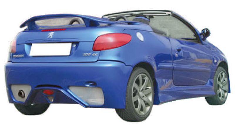 sport rear wing spoiler for peugeot 206 cc spoiler. Black Bedroom Furniture Sets. Home Design Ideas