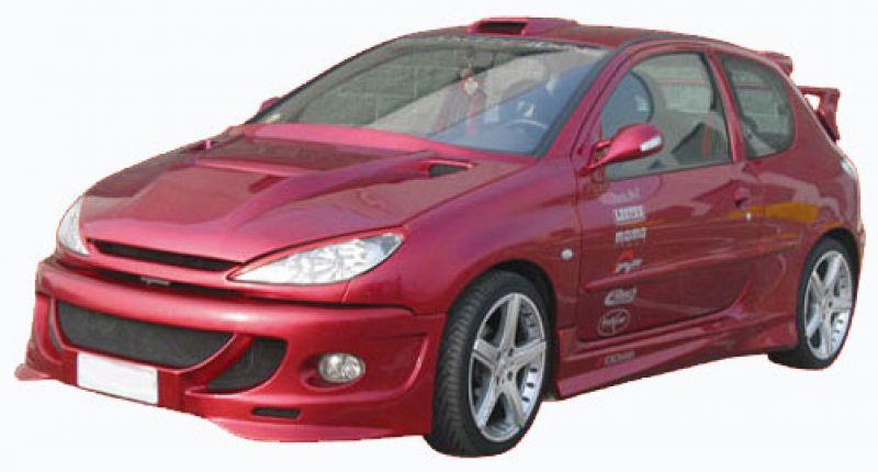 Sport Body Kit For Peugeot 206 Spoiler Shop Com