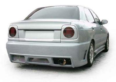 FIBERSPORTS Rear Bumper Spoiler Suzuki Baleno Sedan