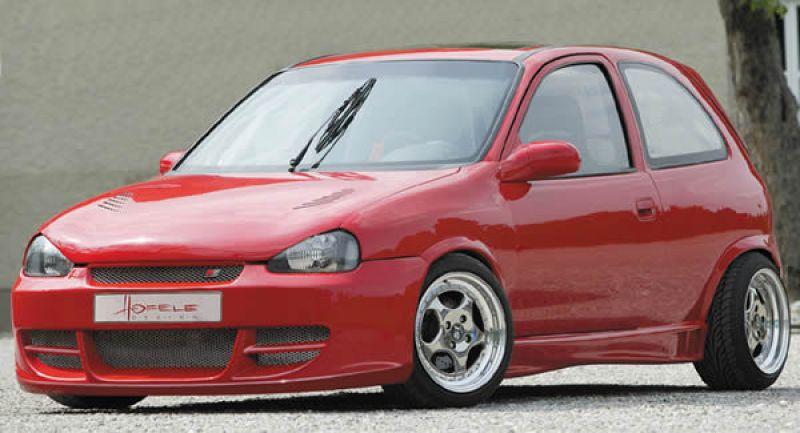 Corsa d Front Spoiler Spoiler Opel Corsa b