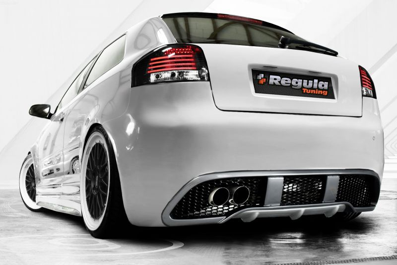 gtrs rear bumper spoiler for audi a3 8p spoiler. Black Bedroom Furniture Sets. Home Design Ideas