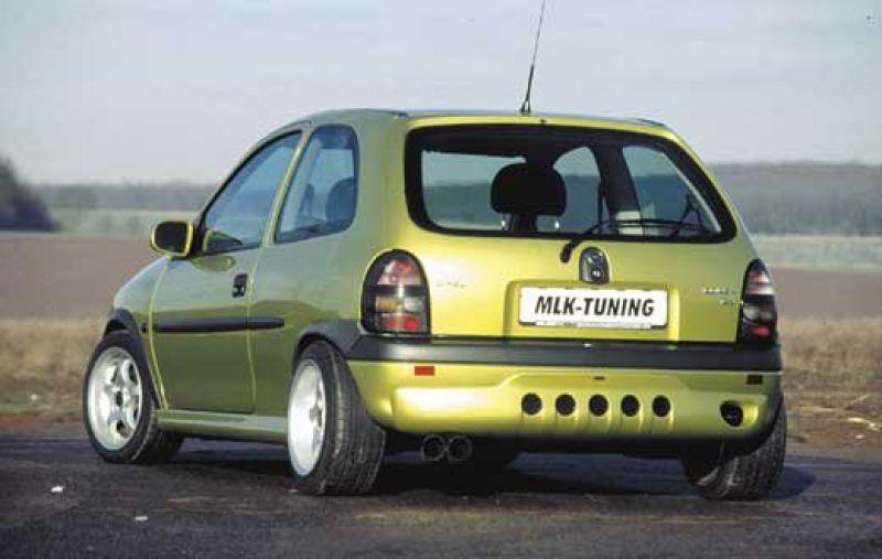 Mlk Rear Bumper Spoiler Apron For Opel Corsa B Spoiler