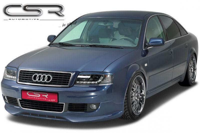 Sf Line Front Bumper Spoiler Apron For Audi A6 C5 4b From 2001 Spoiler Shop Com