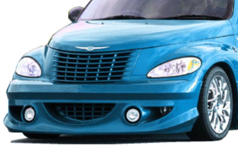 Pt Cruiser Bumpers : Tx front bumper spoiler for chrysler pt cruiser