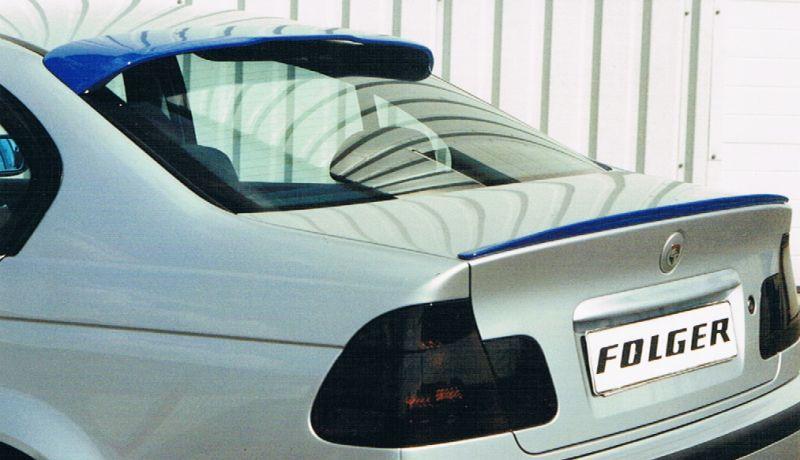 Roof Wing Spoiler For Bmw 3 E46 Sedan Spoiler Shop Com