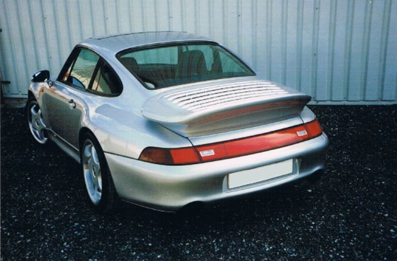 Rear Bumper Spoiler Porsche 911 Type 993 Turbo Look
