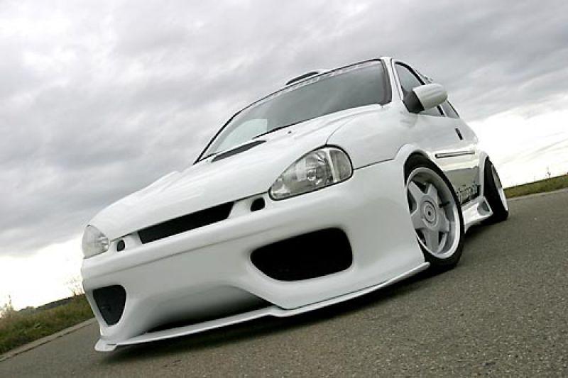 Corsa d Front Spoiler Spoiler Opel Corsa b 299