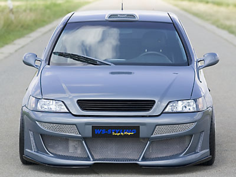 xxtrem front bumper spoiler for opel astra g spoiler. Black Bedroom Furniture Sets. Home Design Ideas