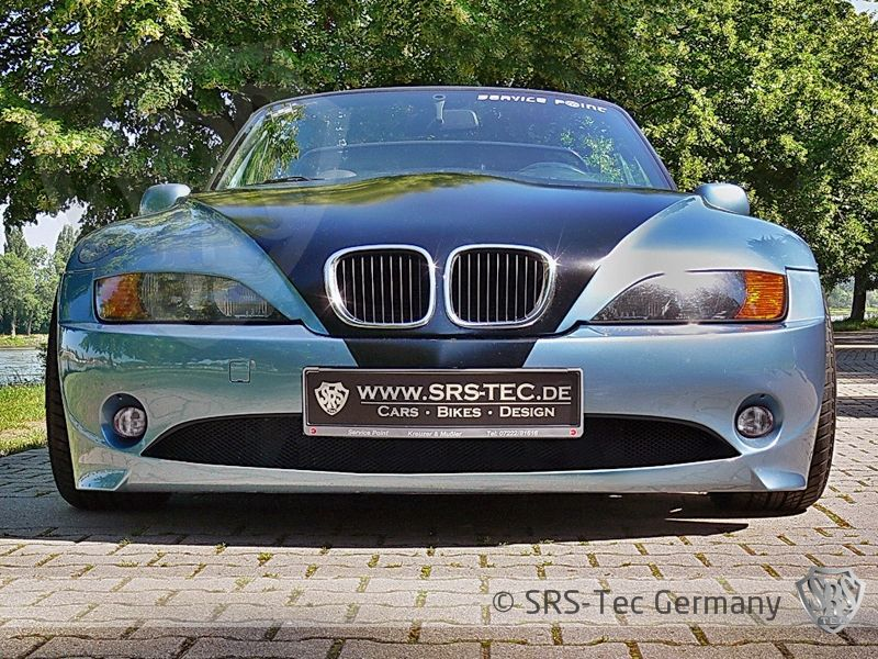 Z4 Look Front Bumper Spoiler For Bmw Z3 Spoiler Shop Com