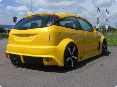 Rcl Wide Body Kit For Ford Focus Mk1 Hatchback Spoiler