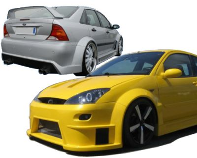 Wide Body Kit Ford Focus Rcl-s Wide Body Kit Ford Focus
