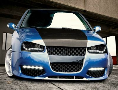 gts front bumper spoiler for volkswagen golf mk4 cabriolet. Black Bedroom Furniture Sets. Home Design Ideas