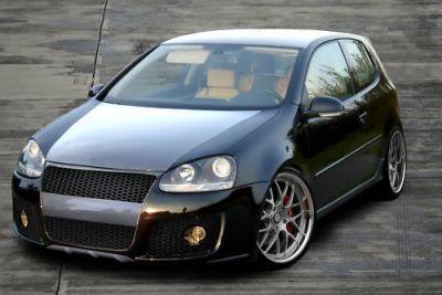 Gt1 Front Bumper Spoiler For Volkswagen Golf Mk5 Spoiler