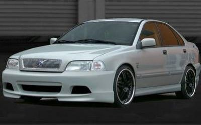 V Line Front Bumper Spoiler Volvo S40 V40 Spoiler Shop Com